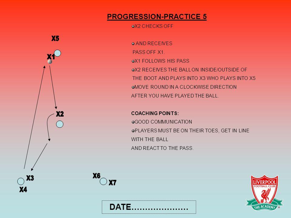 PROGRESSION-PRACTICE 5