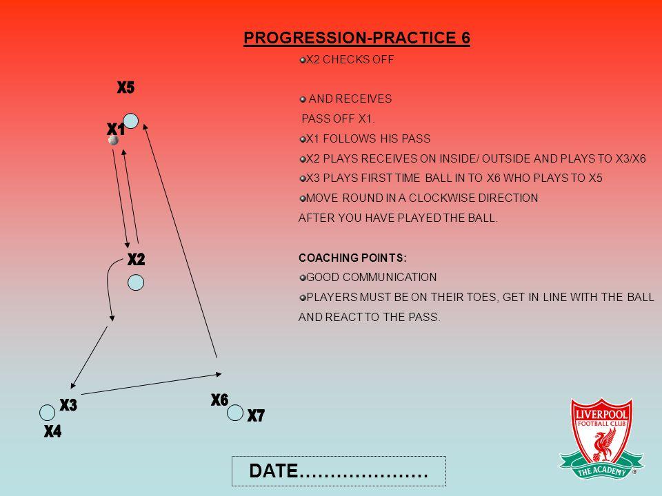 PROGRESSION-PRACTICE 6