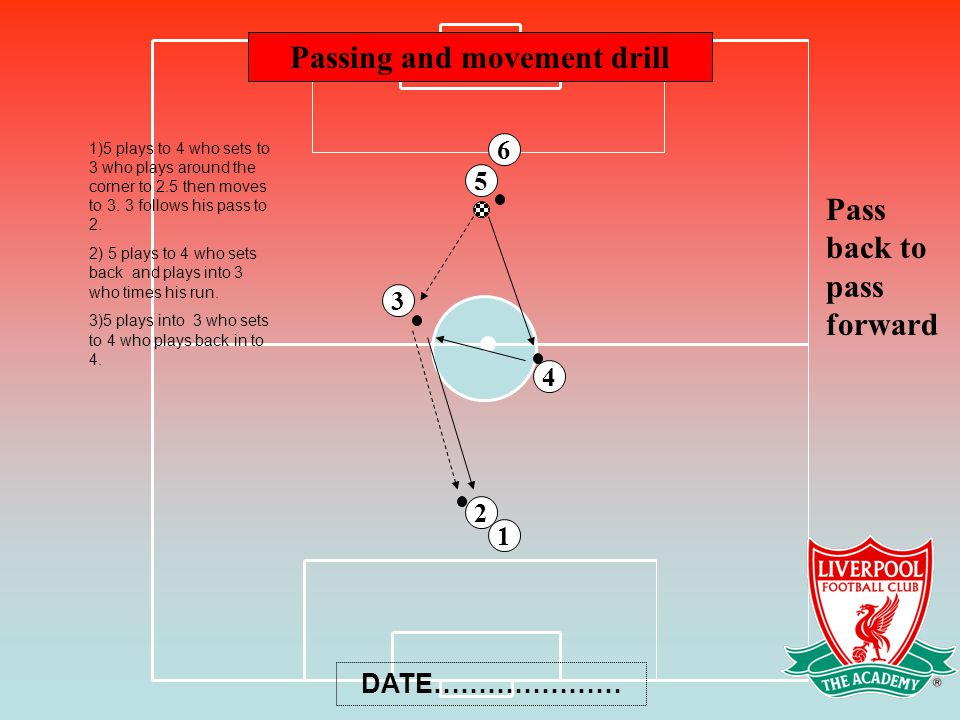 Passing and movement drill