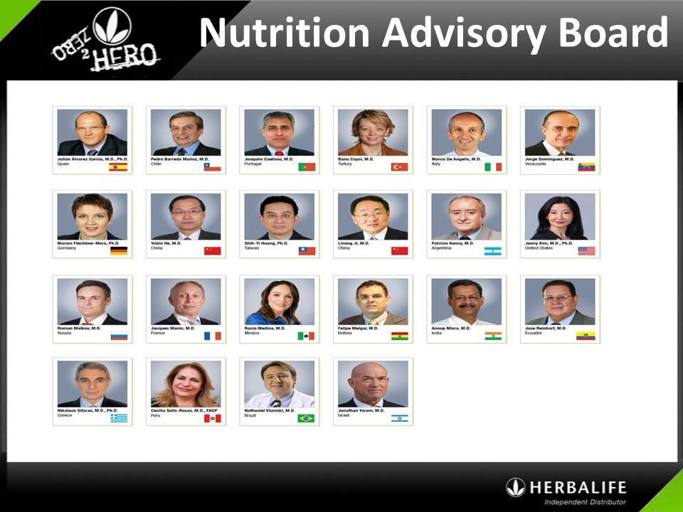 Nutrition Advisory Board
