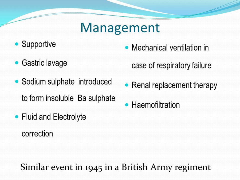 Management Similar event in 1945 in a British Army regiment Supportive