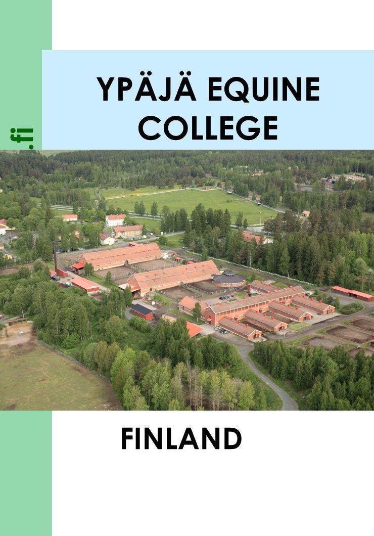 YPÄJÄ EQUINE COLLEGE FINLAND