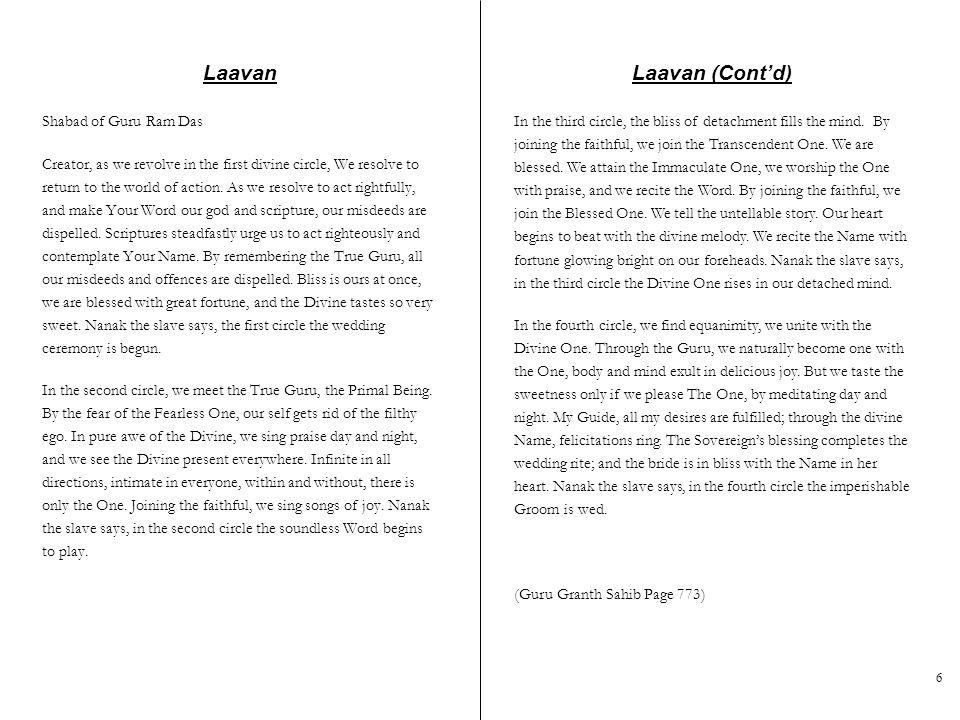 Laavan Laavan (Cont'd)