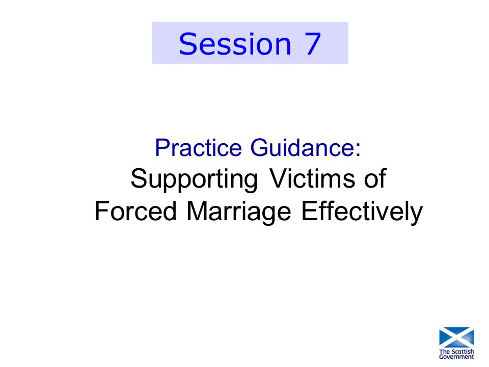 Supporting Victims of Forced Marriage Effectively