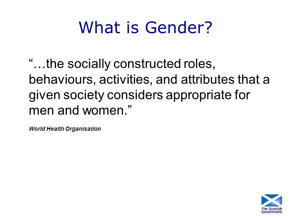 What is Gender