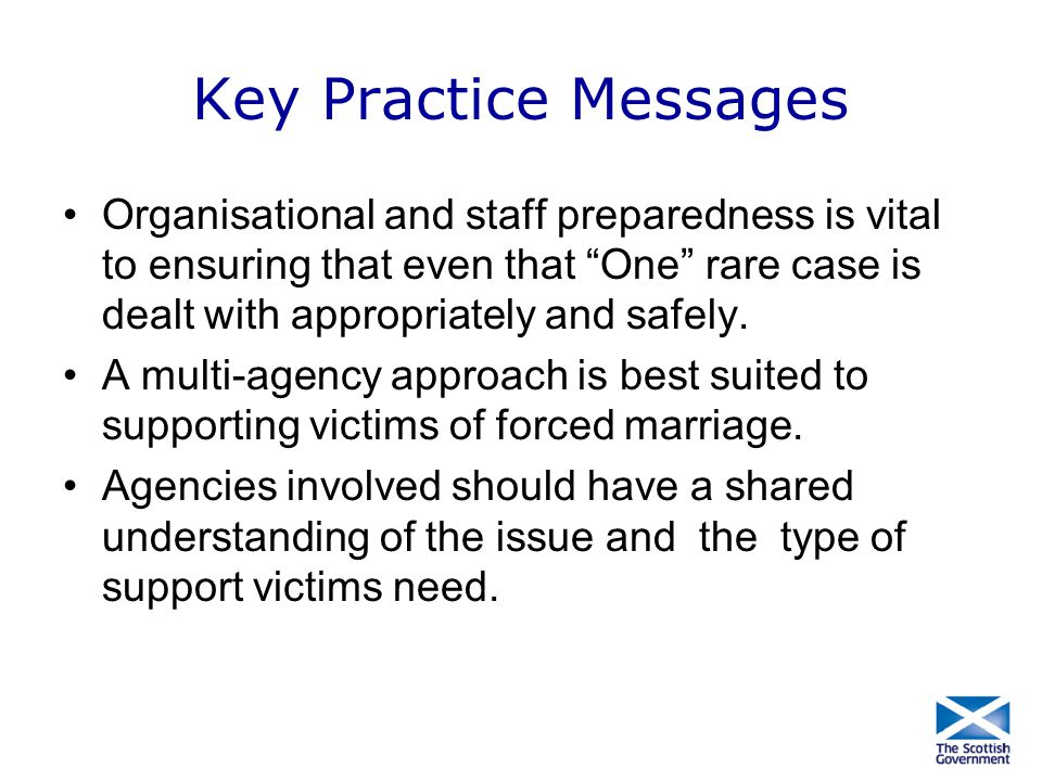 Key Practice Messages