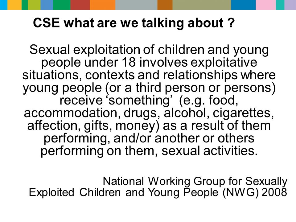 CSE what are we talking about