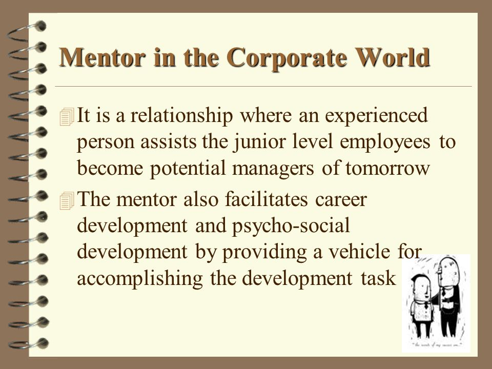 Mentor in the Corporate World