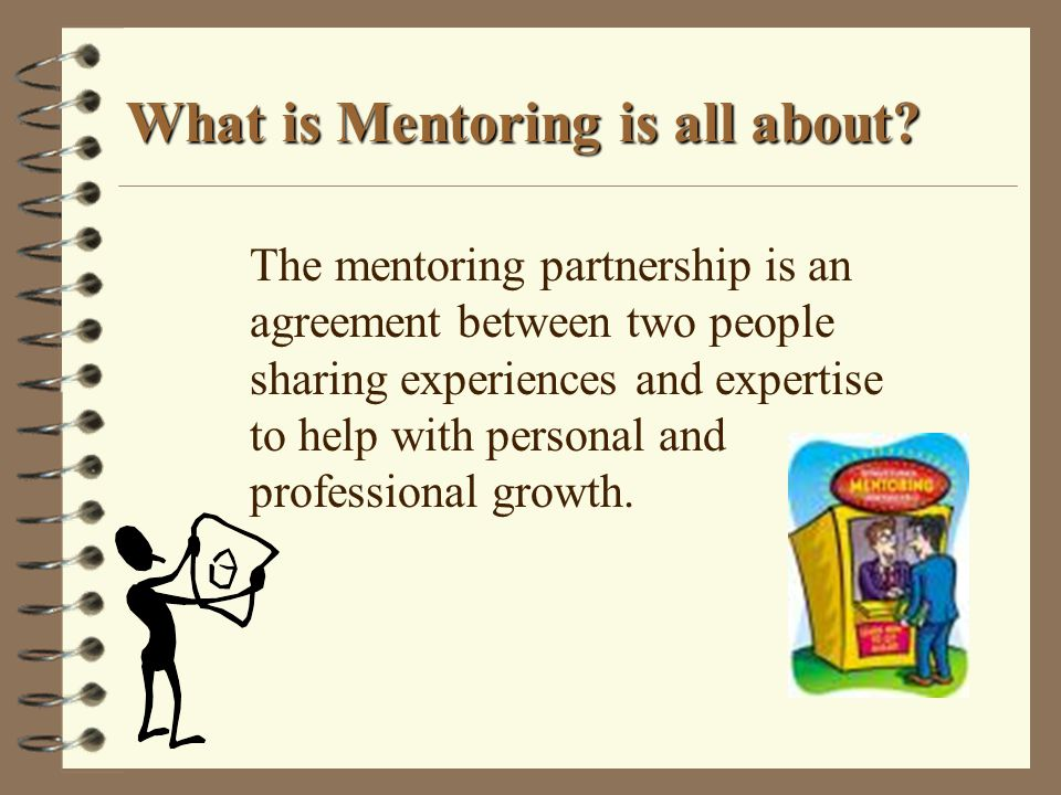 What is Mentoring is all about