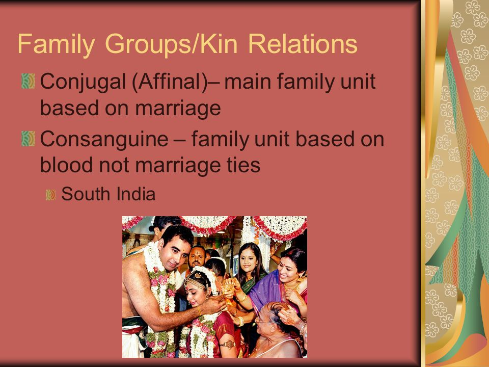 Family Groups/Kin Relations