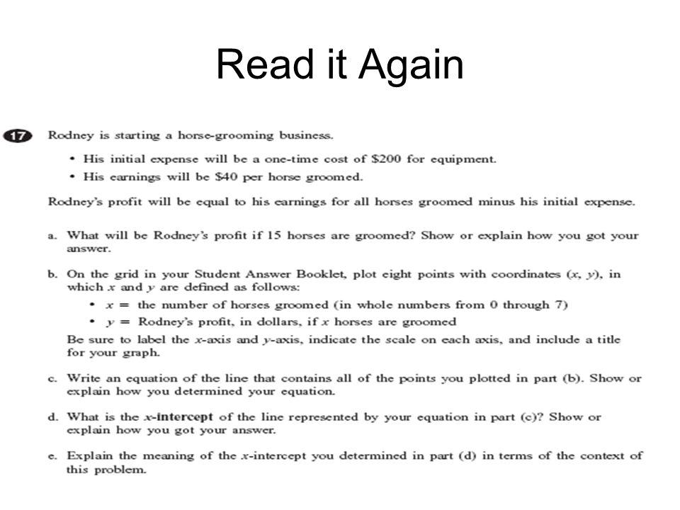 Read it Again