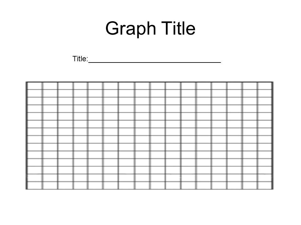 Graph Title Title:________________________________