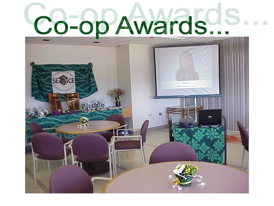 Co-op Awards...