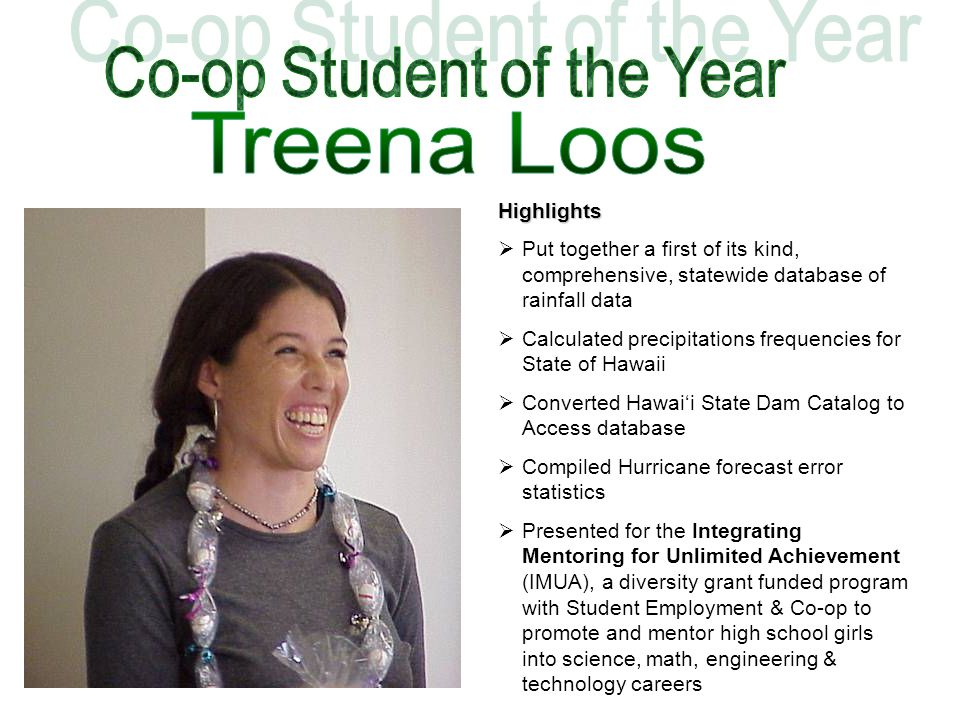 Co-op Student of the Year