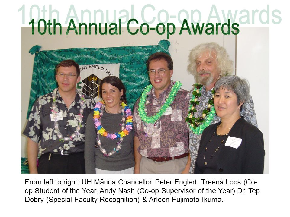 10th Annual Co-op Awards