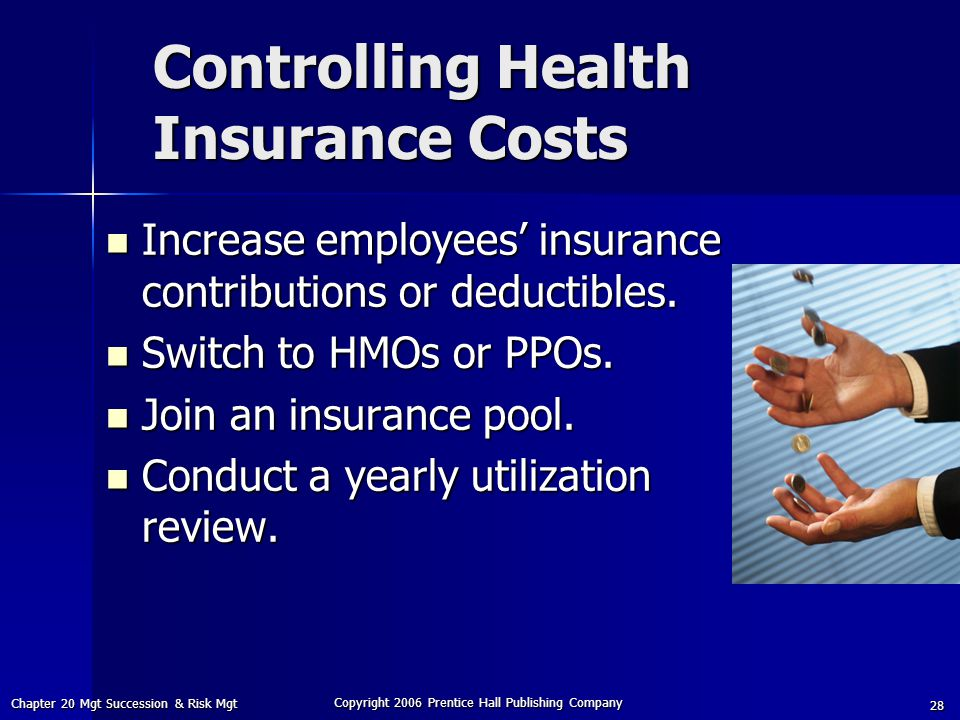 Controlling Health Insurance Costs