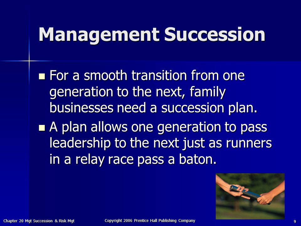Management Succession