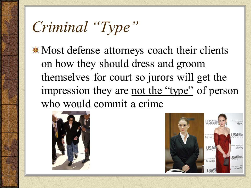 Criminal Type