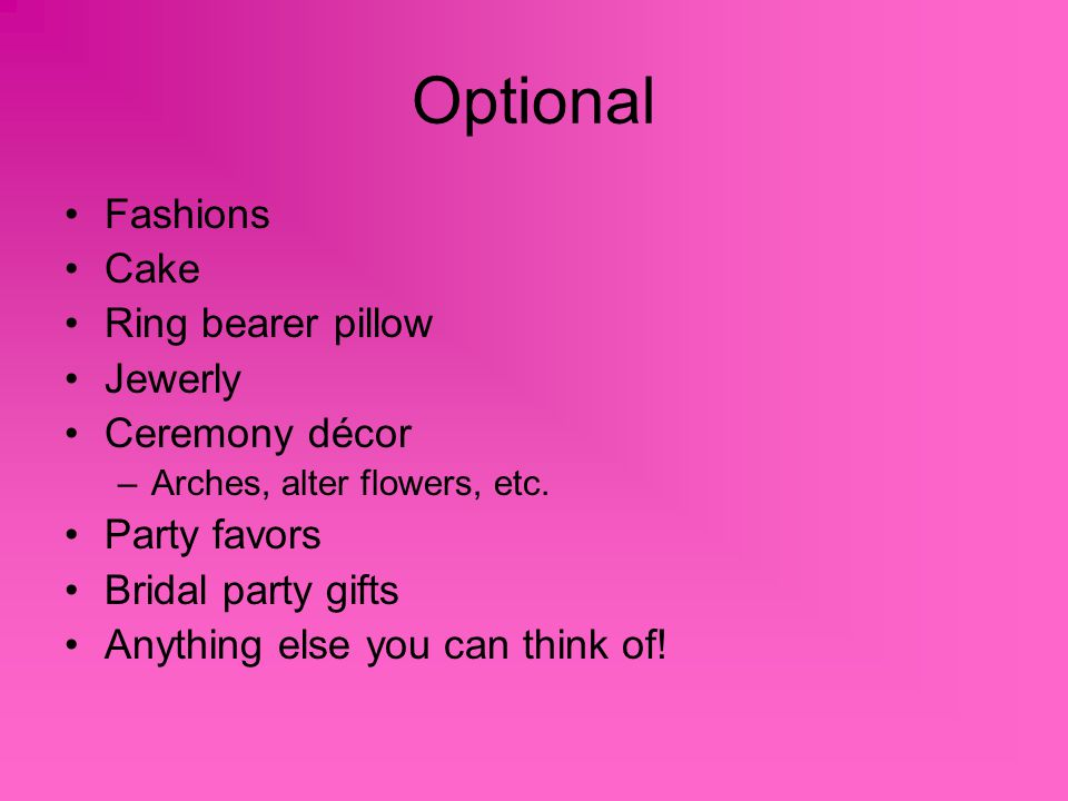 Optional Fashions Cake Ring bearer pillow Jewerly Ceremony décor