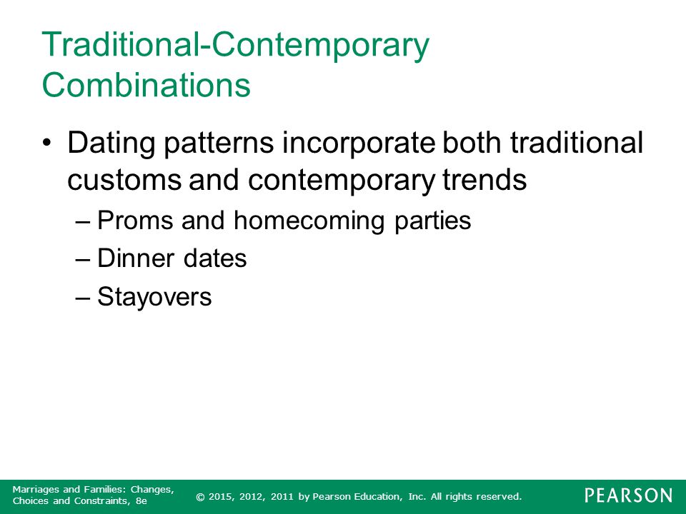Traditional-Contemporary Combinations