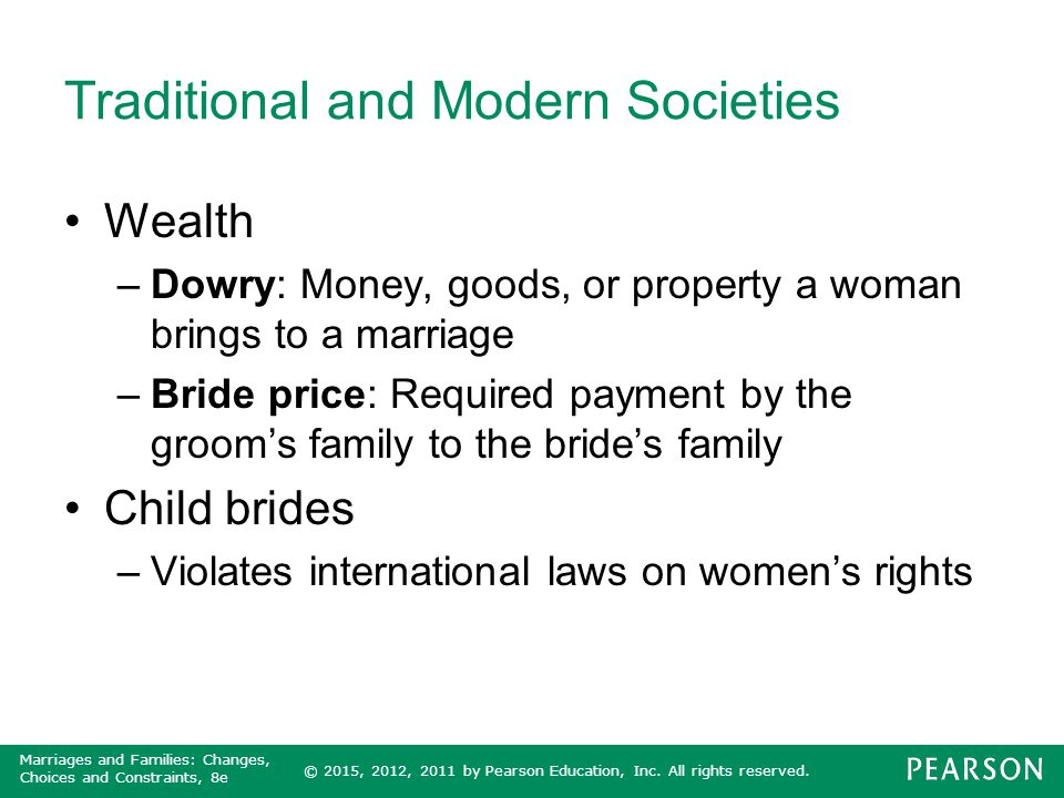 Traditional and Modern Societies