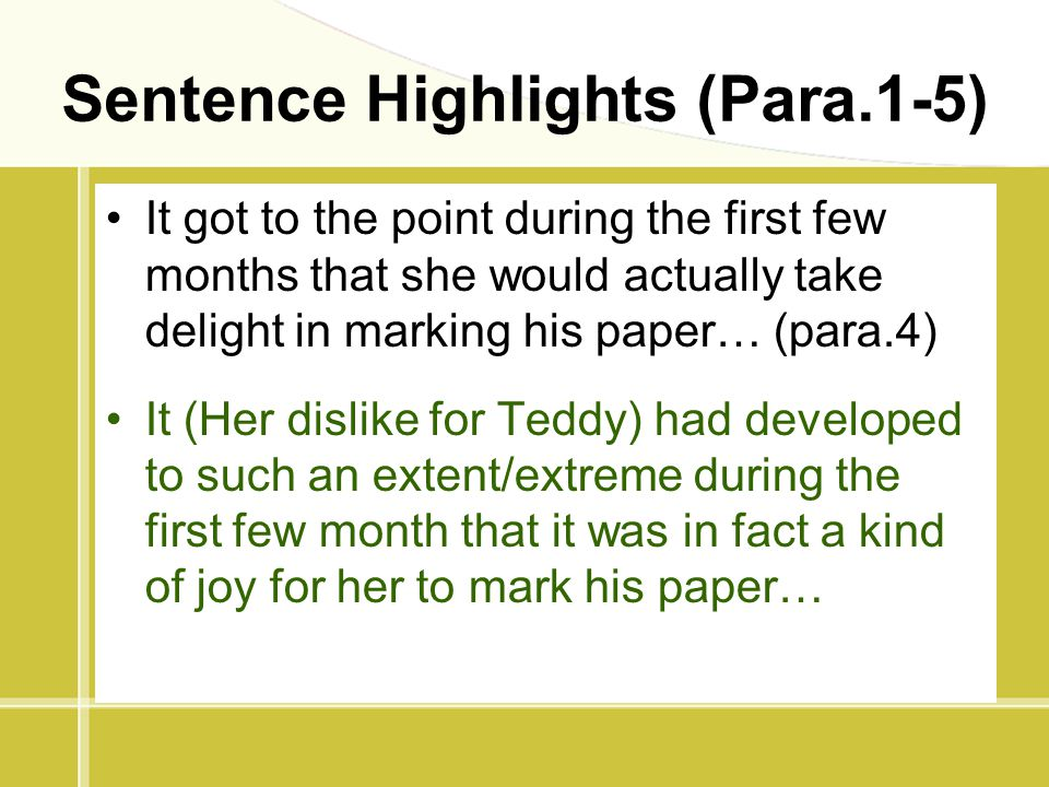 reaction paper teddy stellard Reaction paper: the story of teddy stellard, md the story about the life of teddy stellard and his teacher miss thompson had a strong impact on each and.