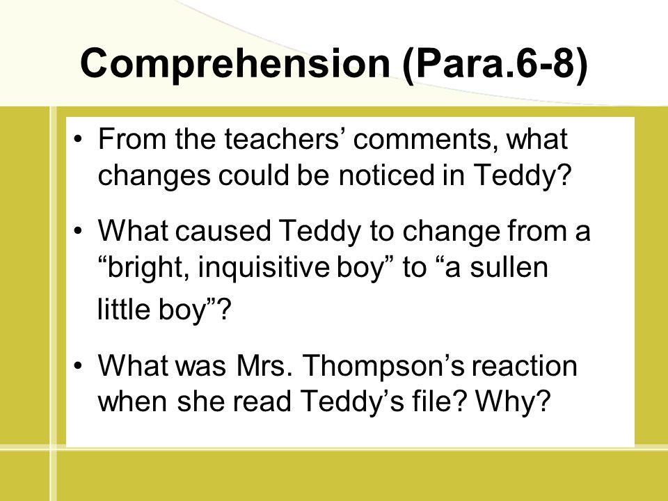 Comprehension (Para.6-8)