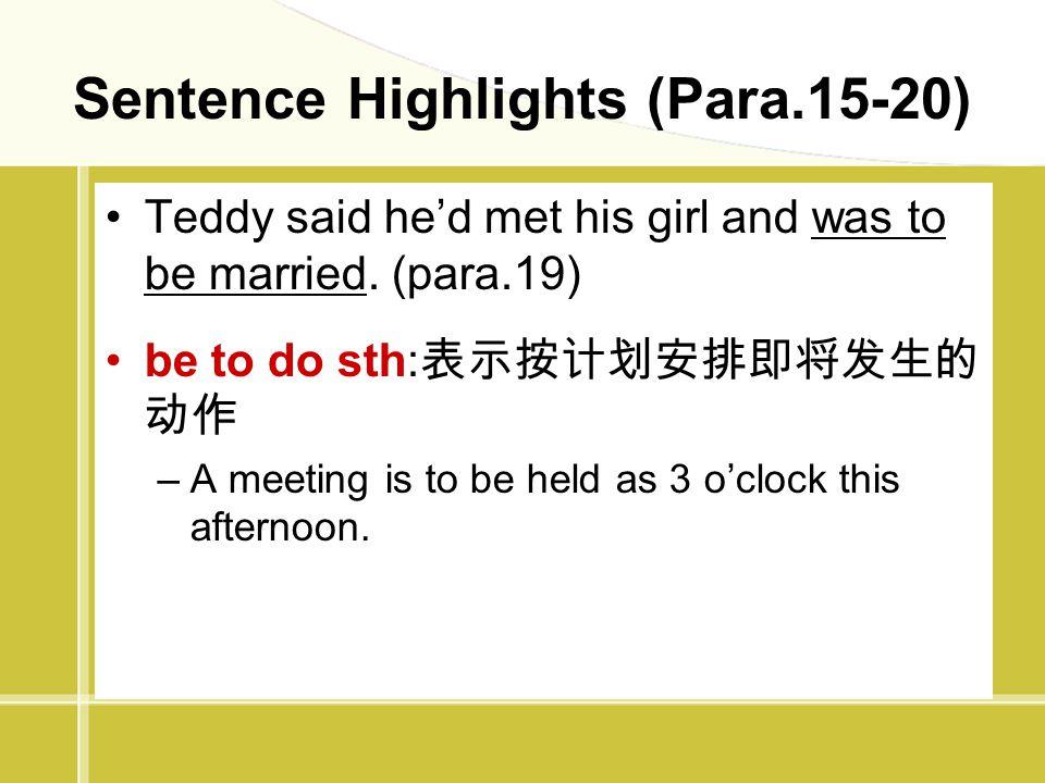 Sentence Highlights (Para.15-20)