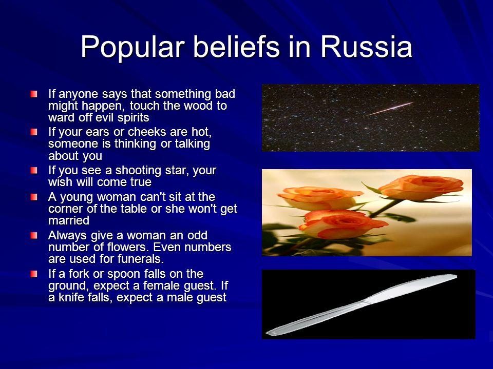 Popular beliefs in Russia