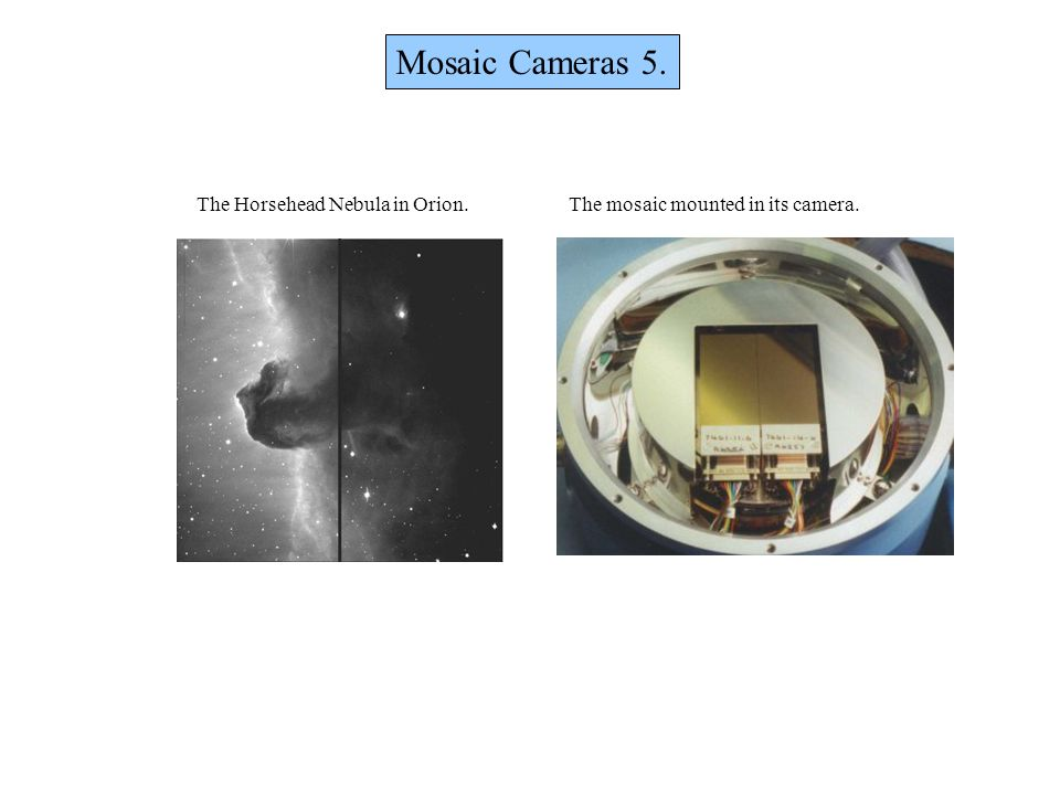 Mosaic Cameras 5. The Horsehead Nebula in Orion.