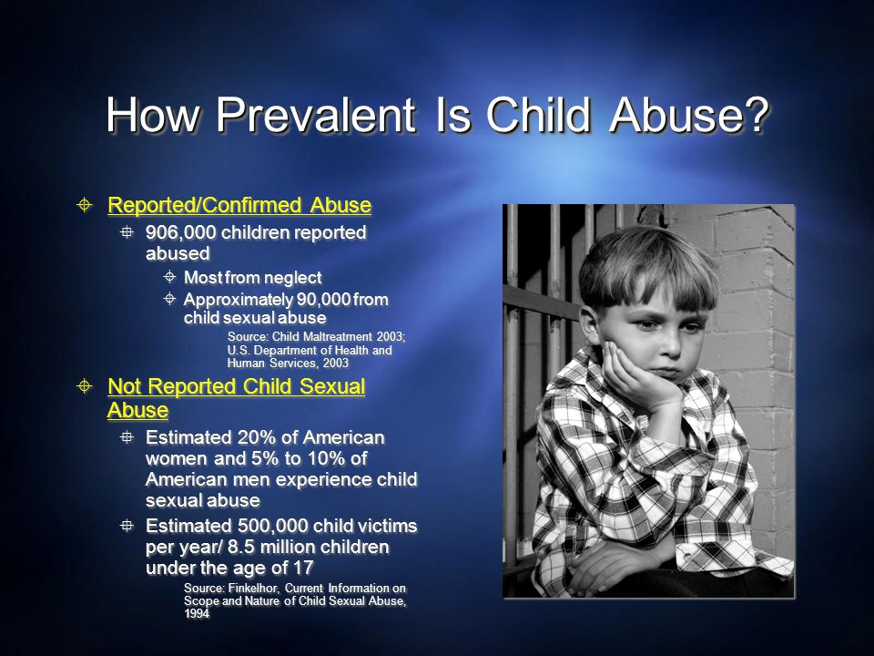 How Prevalent Is Child Abuse