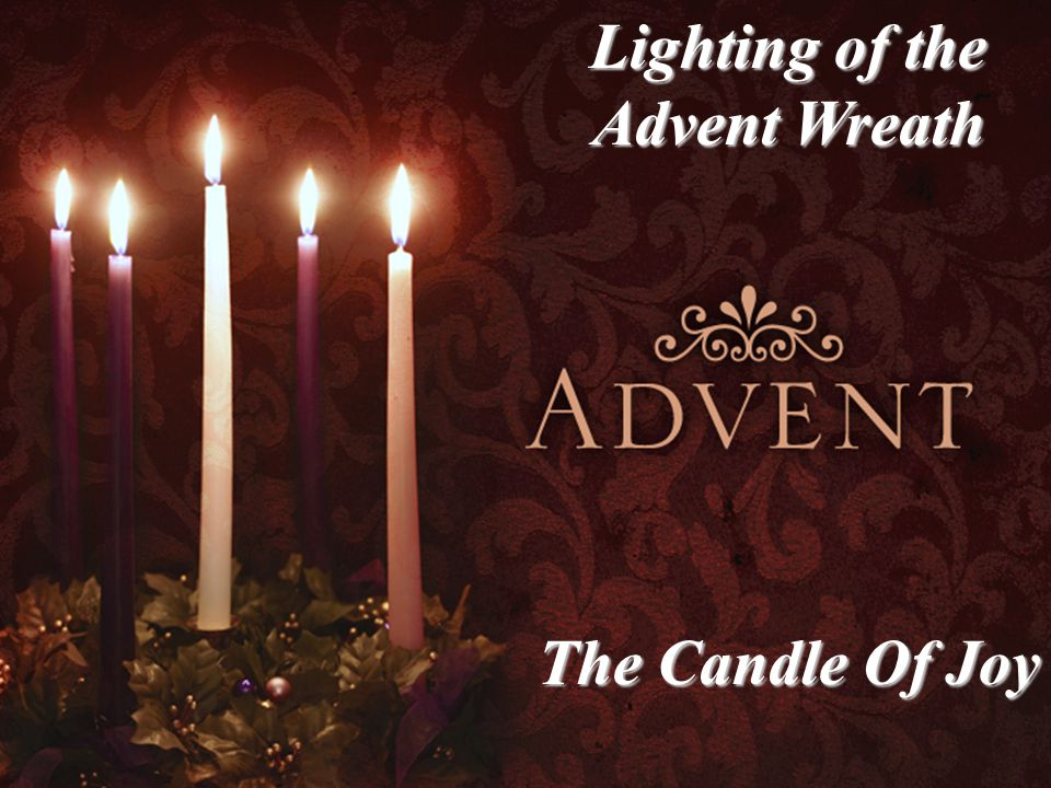 Lighting of the Advent Wreath