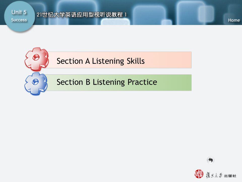 Part A Listening-main Section A Listening Skills