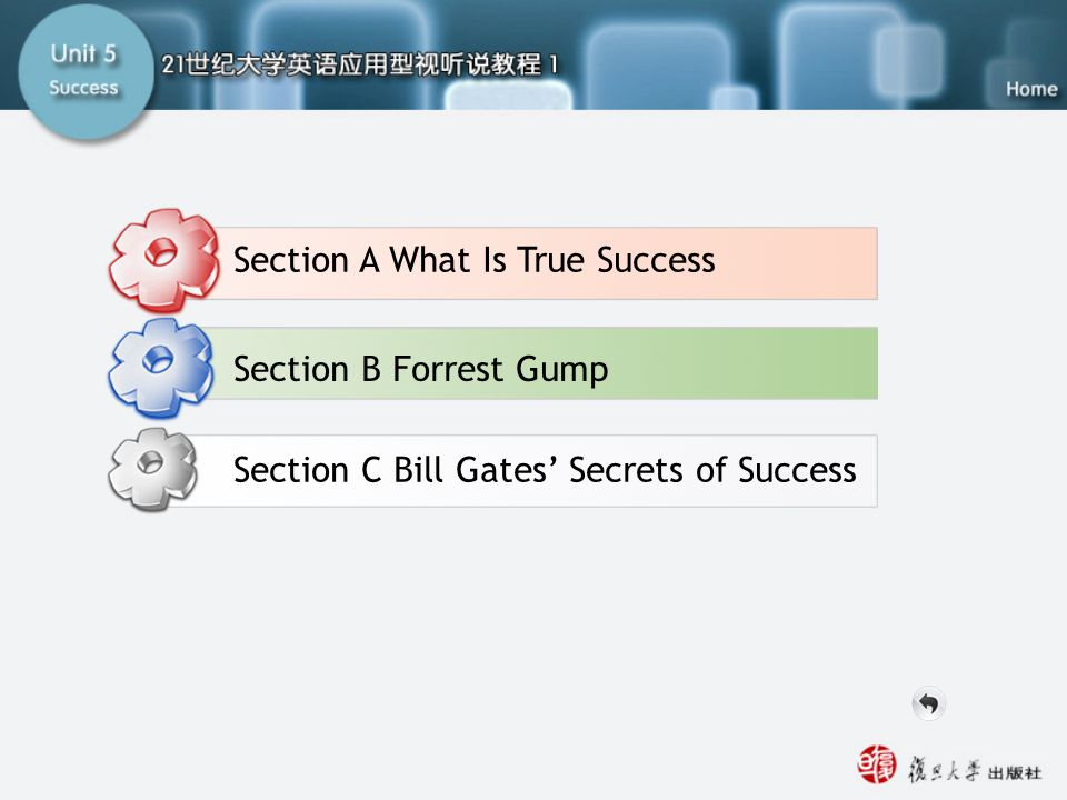 Part B Viewing -main Section A What Is True Success