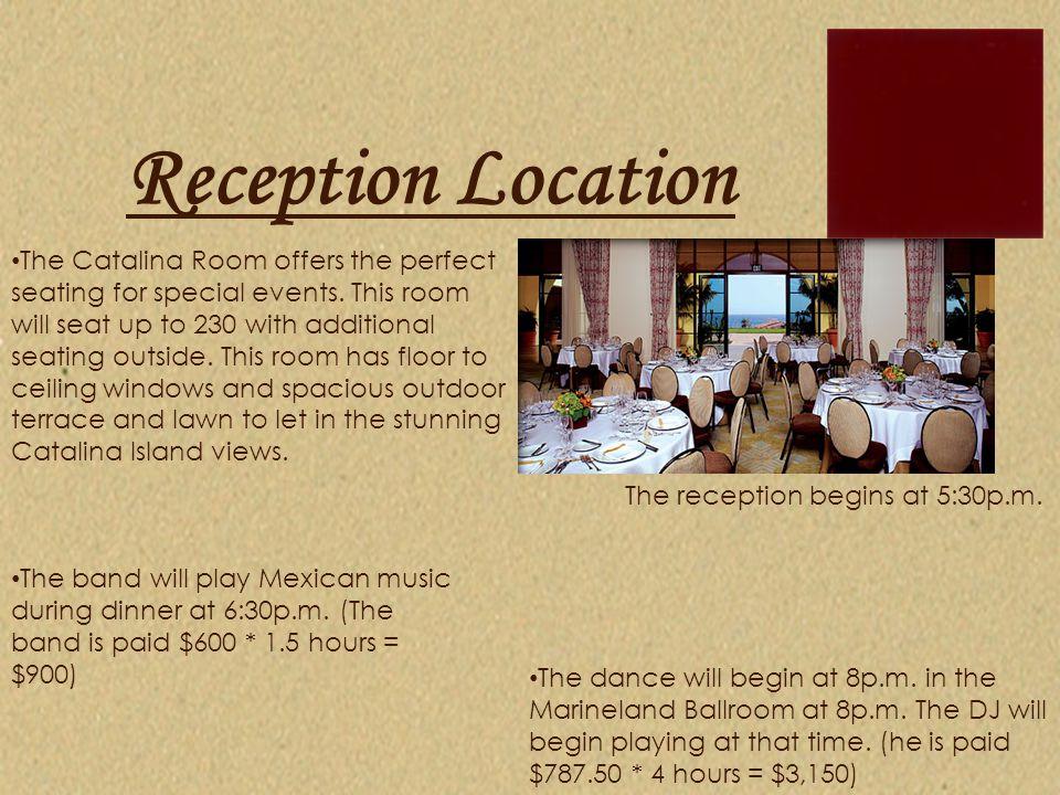 Reception Location