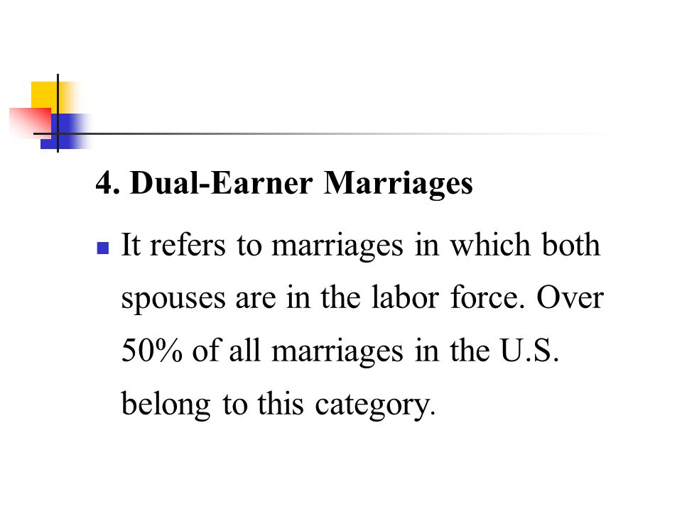 4. Dual-Earner Marriages
