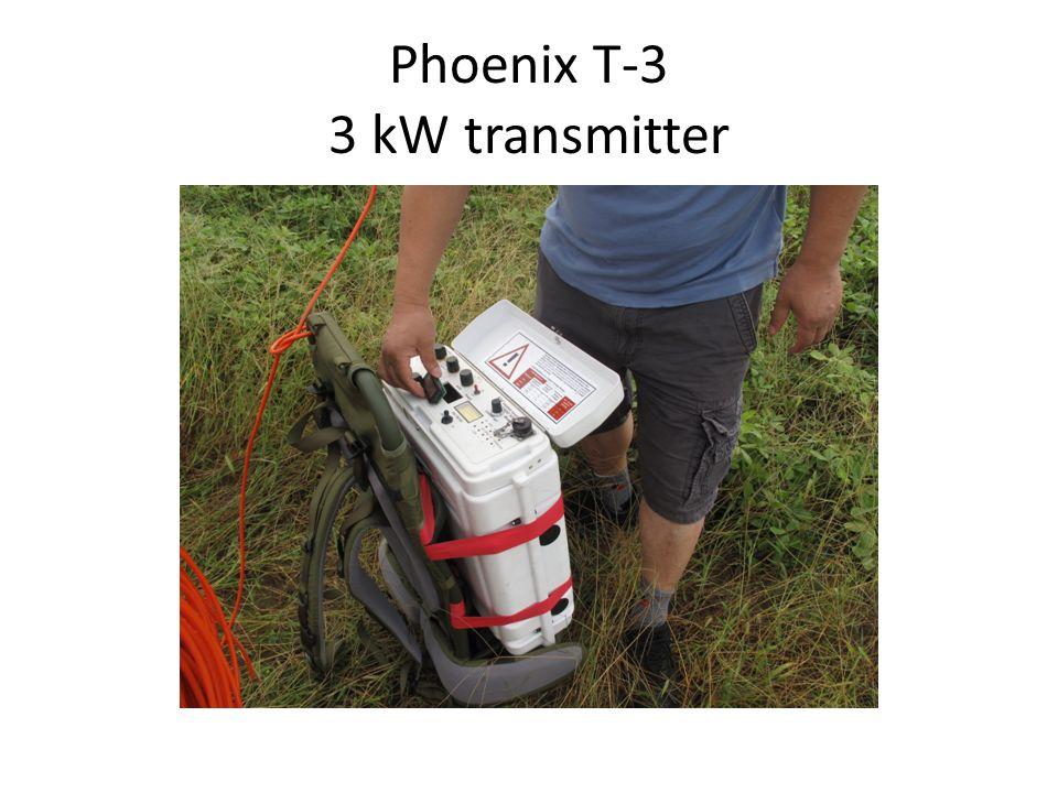 Phoenix T-3 3 kW transmitter