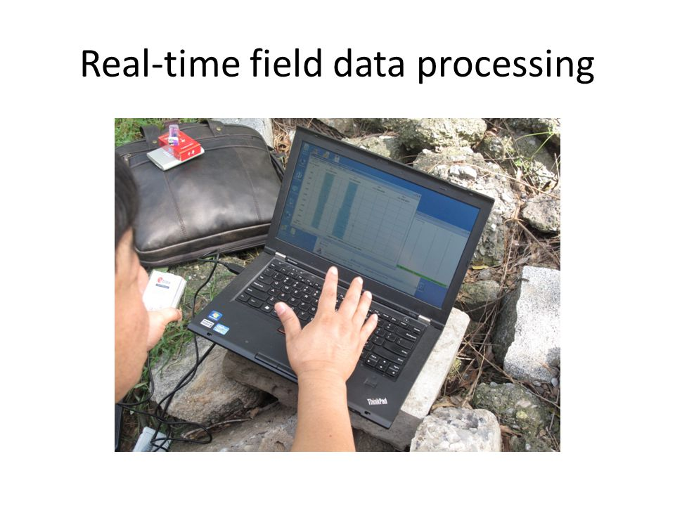 Real-time field data processing