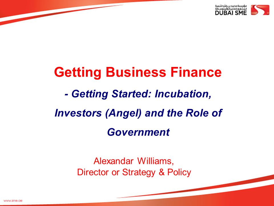 Getting Business Finance