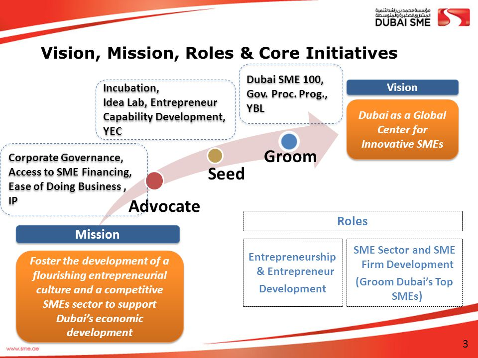 Vision, Mission, Roles & Core Initiatives