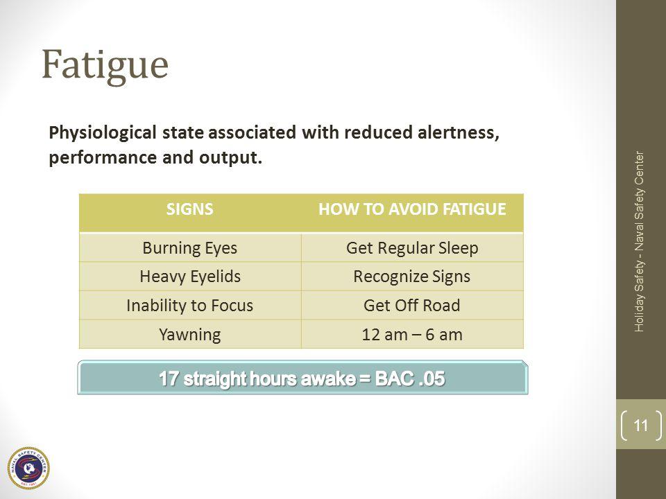 17 straight hours awake = BAC .05