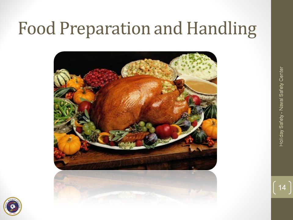 Food Preparation and Handling
