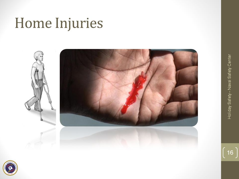 Home Injuries Holiday Safety - Naval Safety Center