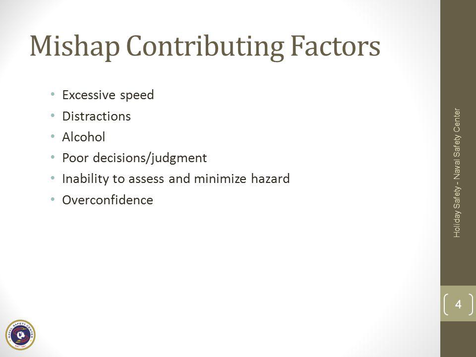 Mishap Contributing Factors