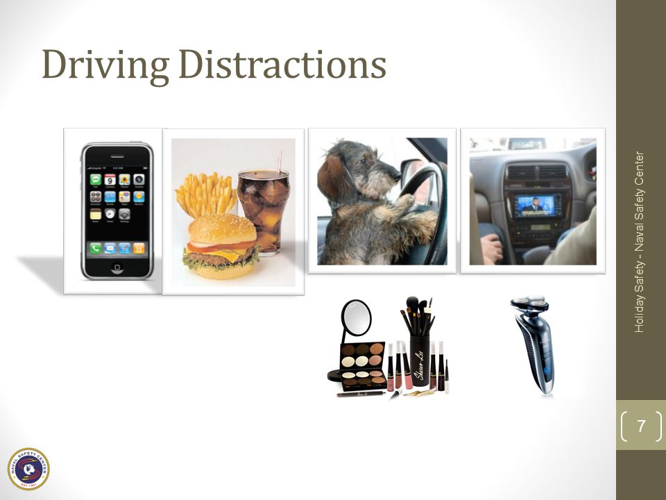 Driving Distractions Holiday Safety - Naval Safety Center