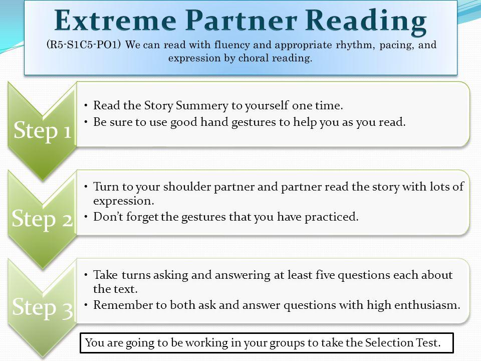 Extreme Partner Reading