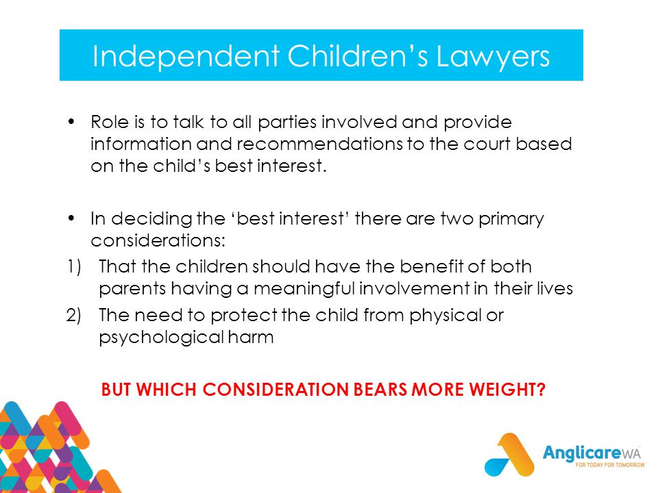 Independent Children's Lawyers