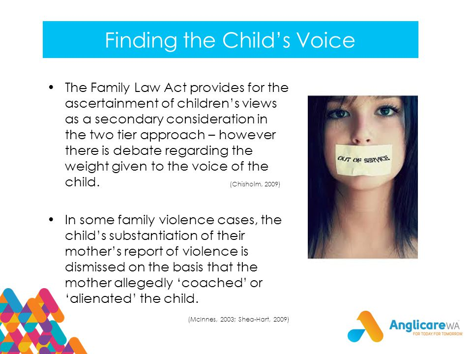 Finding the Child's Voice