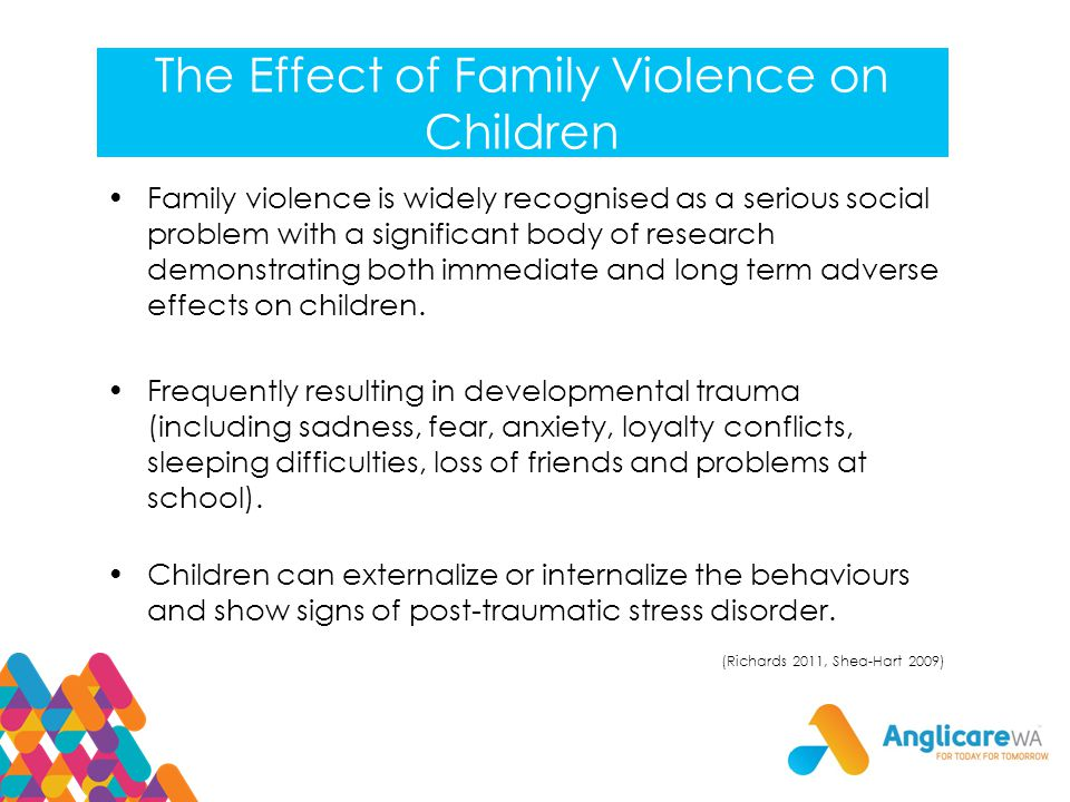 Violence: How it Affects Children