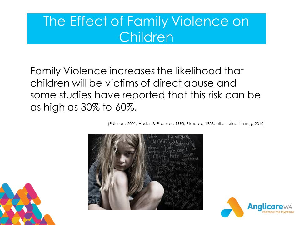 The Effect of Family Violence on Children